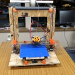 A finished May 2014 printer.
